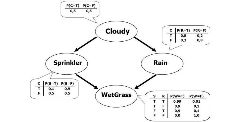 A Bayesian network
